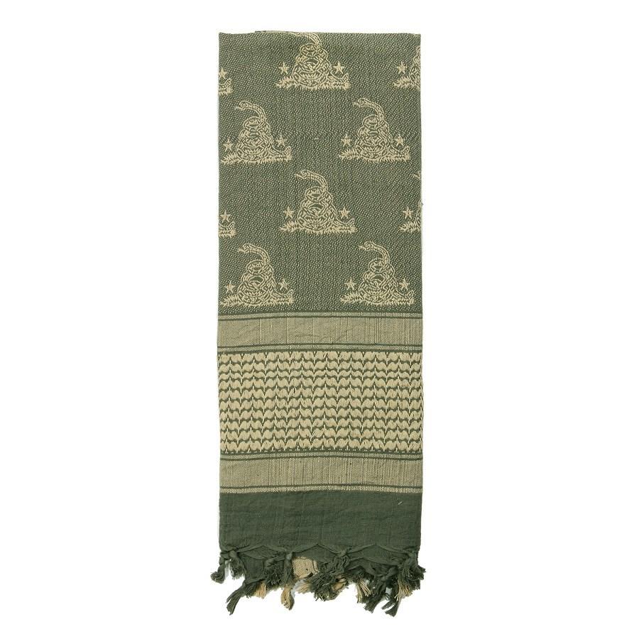 Šátek SHEMAGH 107 x 107 cm GADSDEN SNAKE FOLIAGE - zvìtšit obrázek
