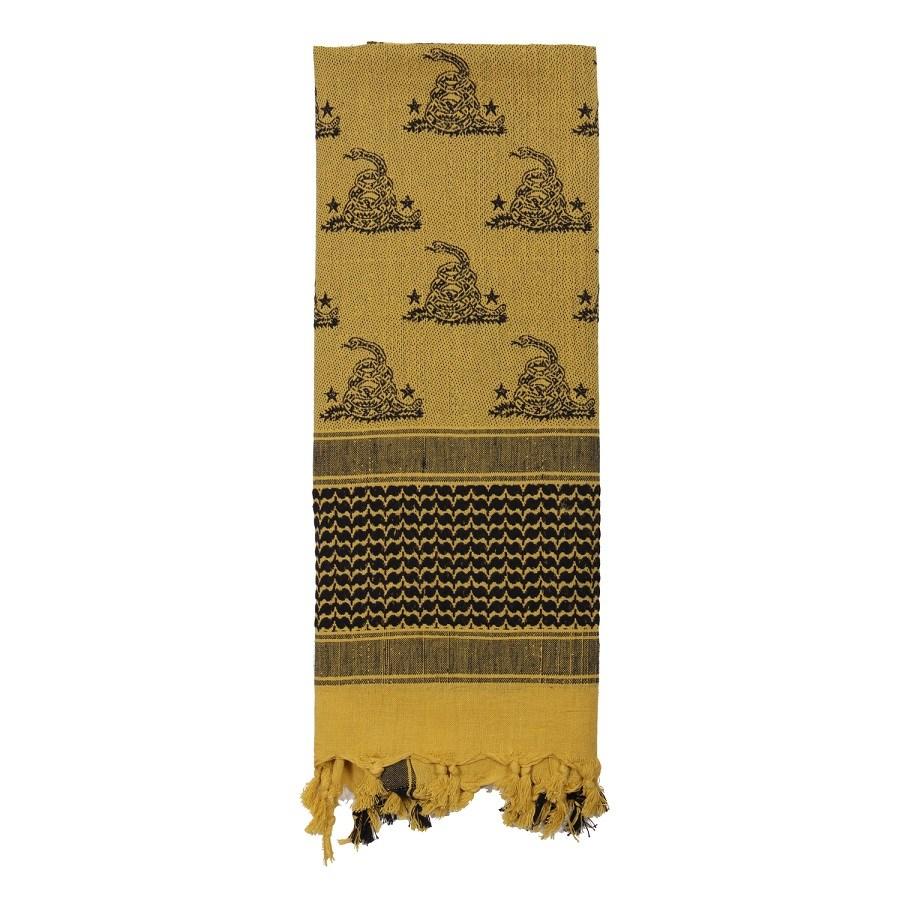 Šátek SHEMAGH 107 x 107 cm GADSDEN SNAKE DESERT - zvìtšit obrázek