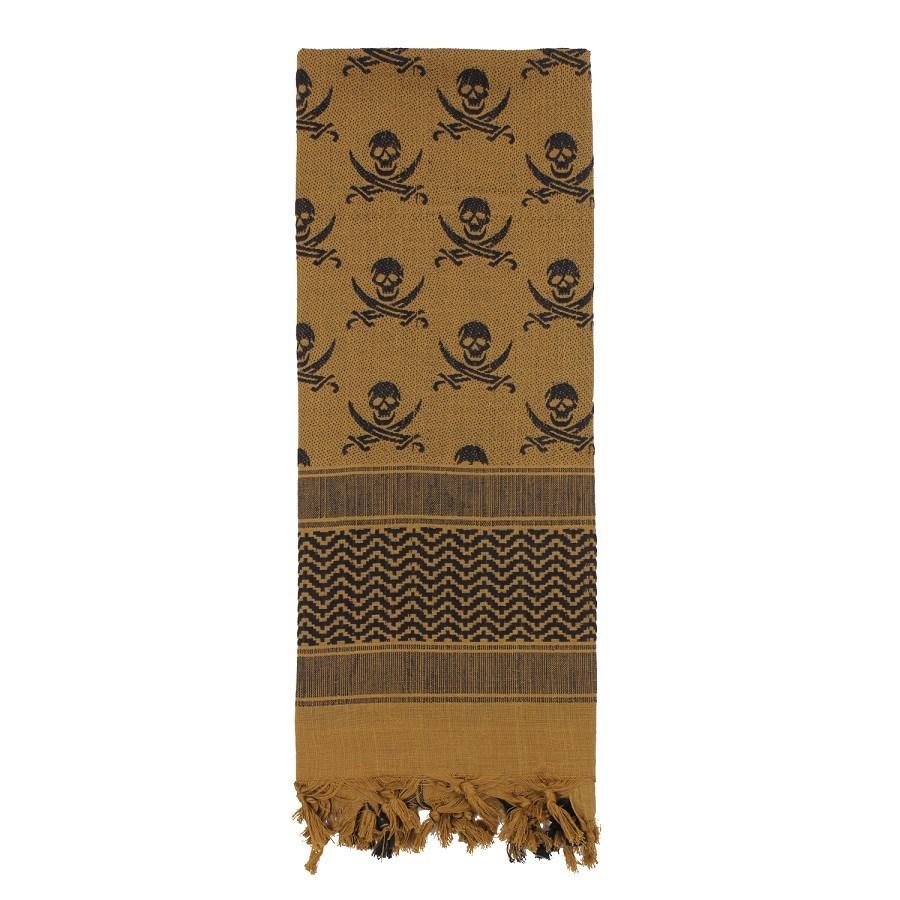 Šátek SHEMAGH LEBKY 107 x 107 cm COYOTE - zvìtšit obrázek