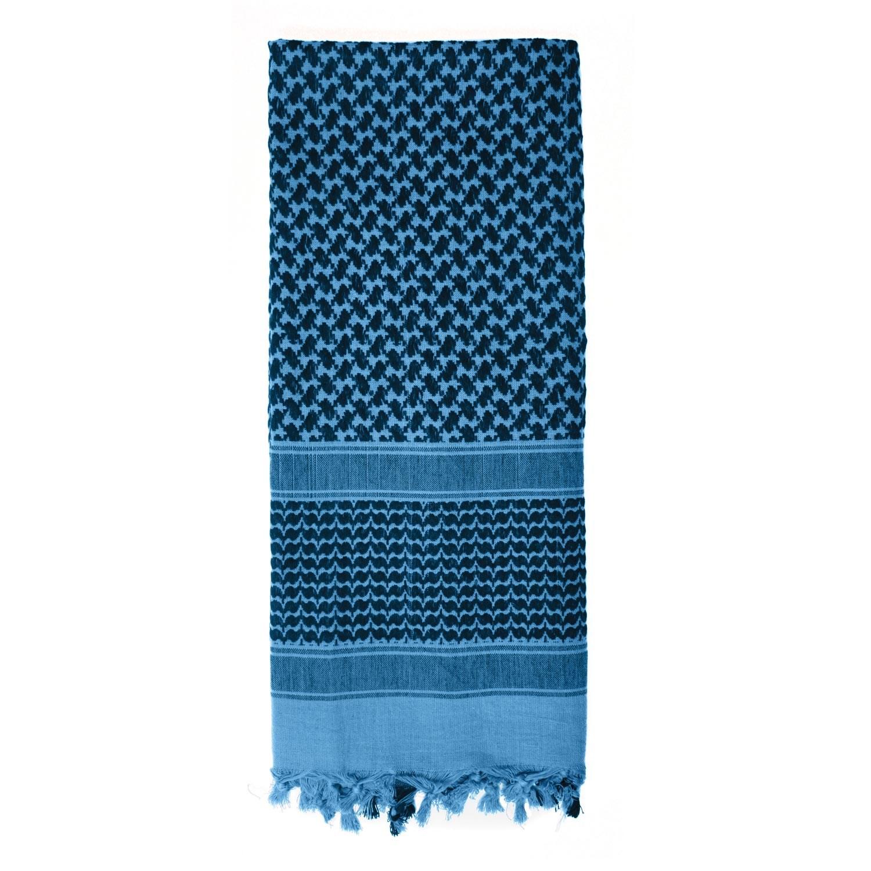 Šátek SHEMAGH odlehèený MODRÝ 105 x 105 cm - zvìtšit obrázek