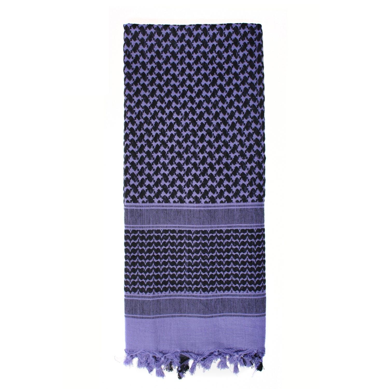 Šátek SHEMAGH odlehèený FIALOVÝ 105 x 105 cm - zvìtšit obrázek