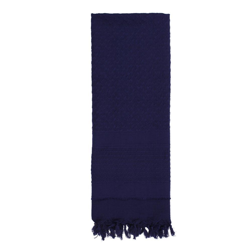 Šátek SHEMAGH SOLID 107 x 107 cm MODRÝ - zvìtšit obrázek