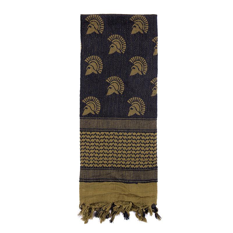 Šátek SHEMAGH 107 x 107 cm SPARTAN ZELENÝ - zvìtšit obrázek