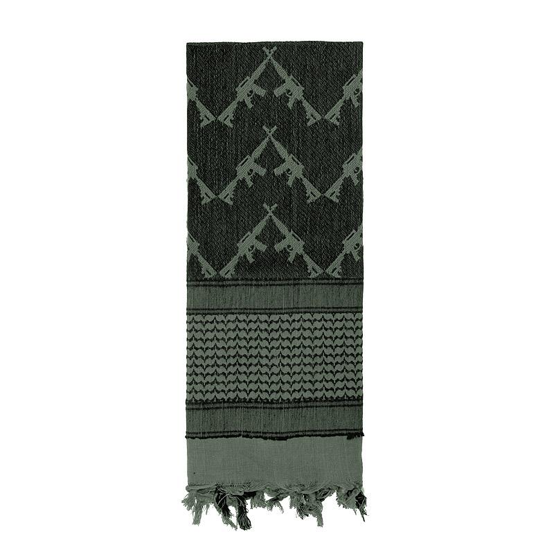 Šátek SHEMAGH CROSSED RIFLES 107 x 107 cm FOLIAGE - zvìtšit obrázek