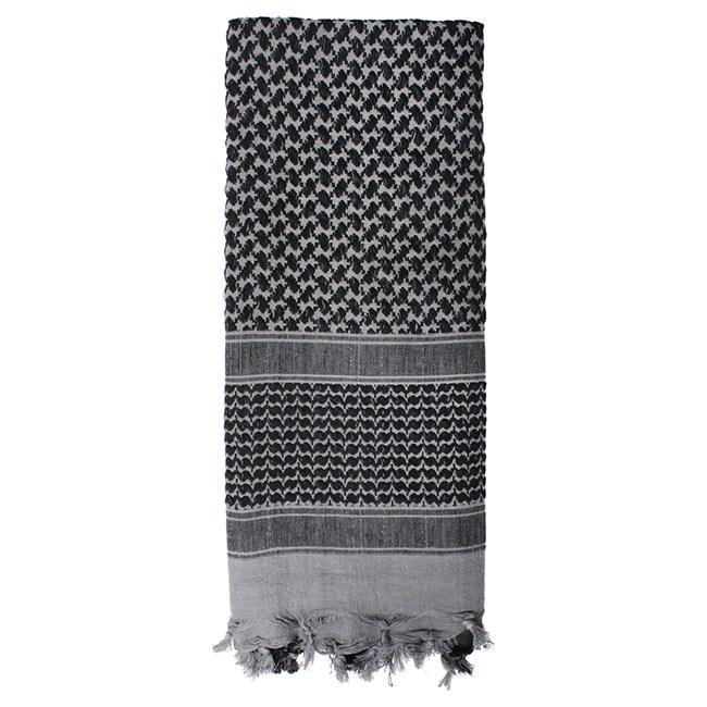 Šátek SHEMAGH odlehèený ŠEDÝ 105 x 105 cm - zvìtšit obrázek