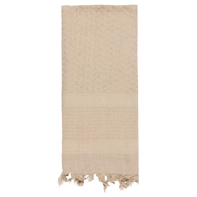 Šátek SHEMAGH SOLID 107 x 107 cm TAN - DESERT - zvìtšit obrázek