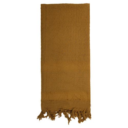 Šátek SHEMAGH SOLID 107 x 107 cm COYOTE - zvìtšit obrázek