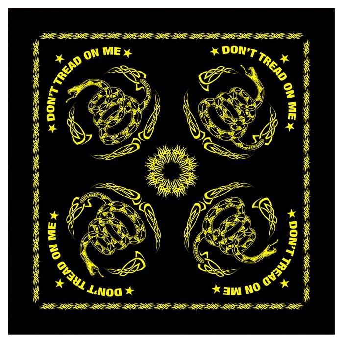 Šátek DON´T TREAD ON ME 55 x 55 cm - zvìtšit obrázek