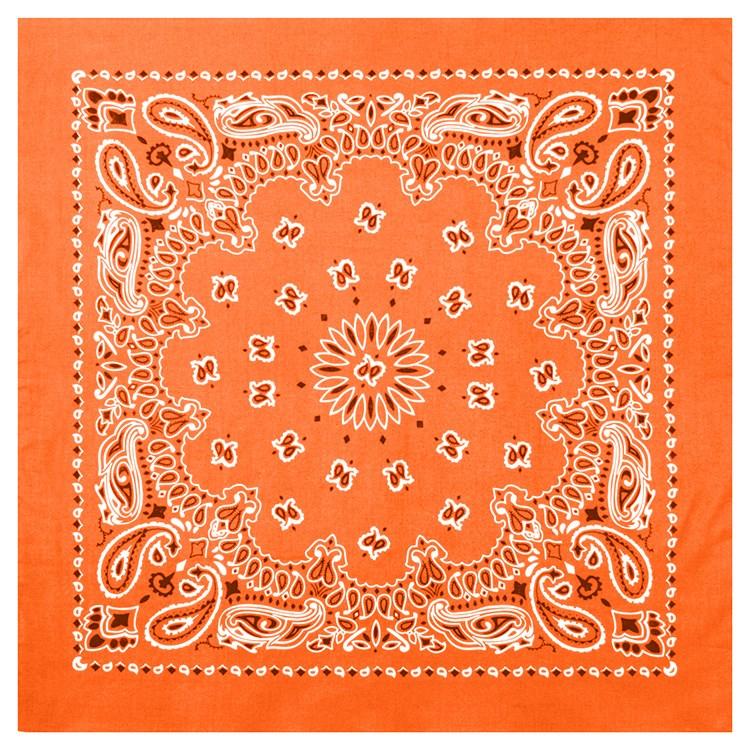 Šátek 55 x 55 cm TRAINMEN ORANŽOVÝ - zvìtšit obrázek