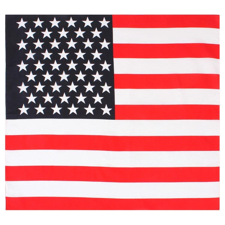 Šátek vlajka USA 68 x 68 cm - zvìtšit obrázek