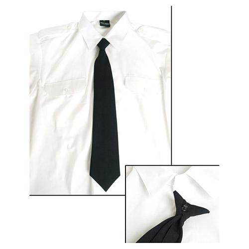 Kravata SECURITY na knoflík ÈERNÁ - zvìtšit obrázek