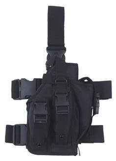 MFH Pouzdro na zbraň stehenní pravé ČERNÉ