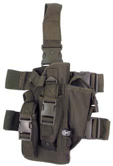MFH Pouzdro na zbraň stehenní pravé OLIV