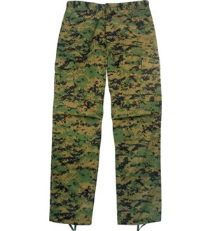 ROTHCO Kalhoty BDU POLY/COTTON DIGITAL WOODLAND