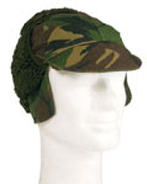 armáda Holandská Čepice zimní HOLANDSKÁ s kšiltem DPM