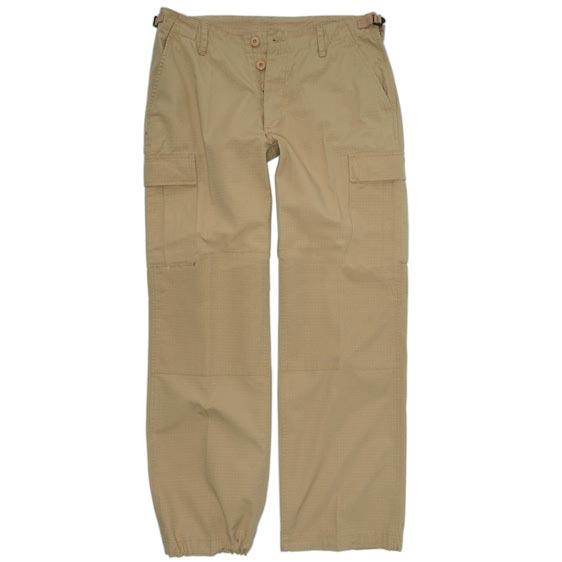 Kalhoty dámské US BDU rip-stop pøedeprané KHAKI - zvìtšit obrázek