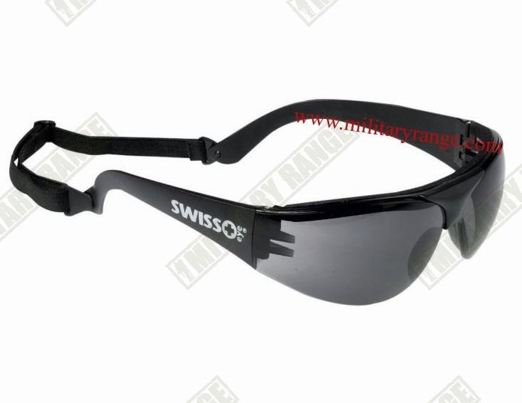SWISS EYE Brýle sportovní střelecké SWISS EYE KOUŘOVÁ skla