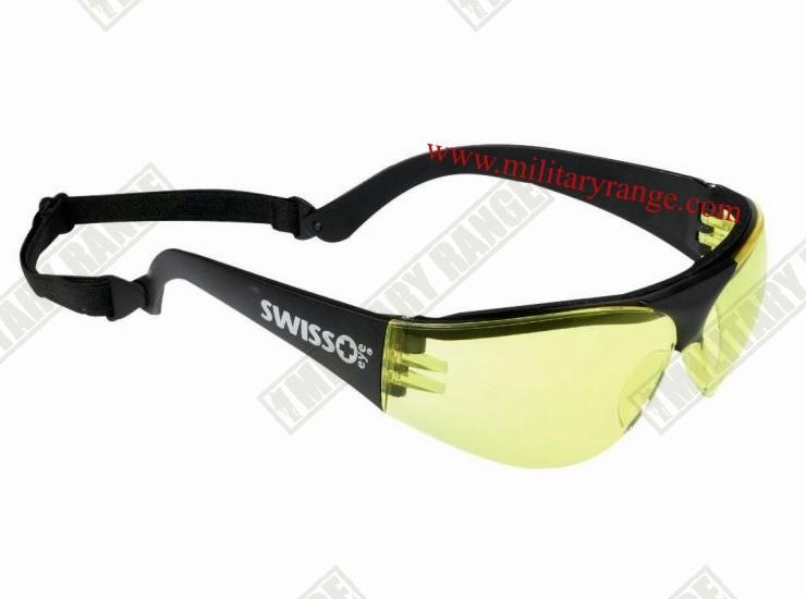 SWISS EYE Brýle sportovní střelecké SWISS EYE ŽLUTÁ skla