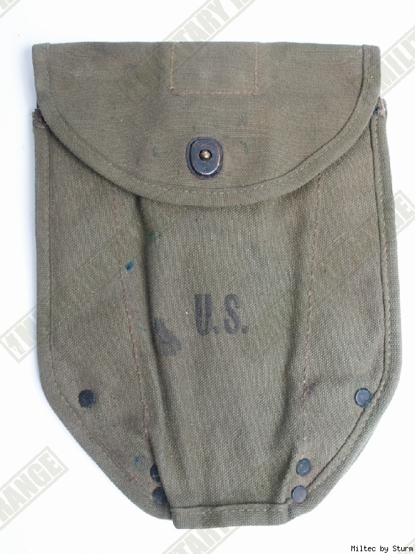 WWII US orig. Pouzdro na rýč US M43 1.MODEL