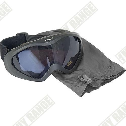 VIPER Taktické brýle Viper tmavé
