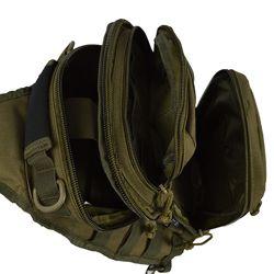 Batoh ASSAULT malý přes jedno rameno ZELENÝ - MIL-TEC - Army shop ... b79add3159